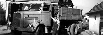 1962 – Transport, Abbruch und Erdarbeiten